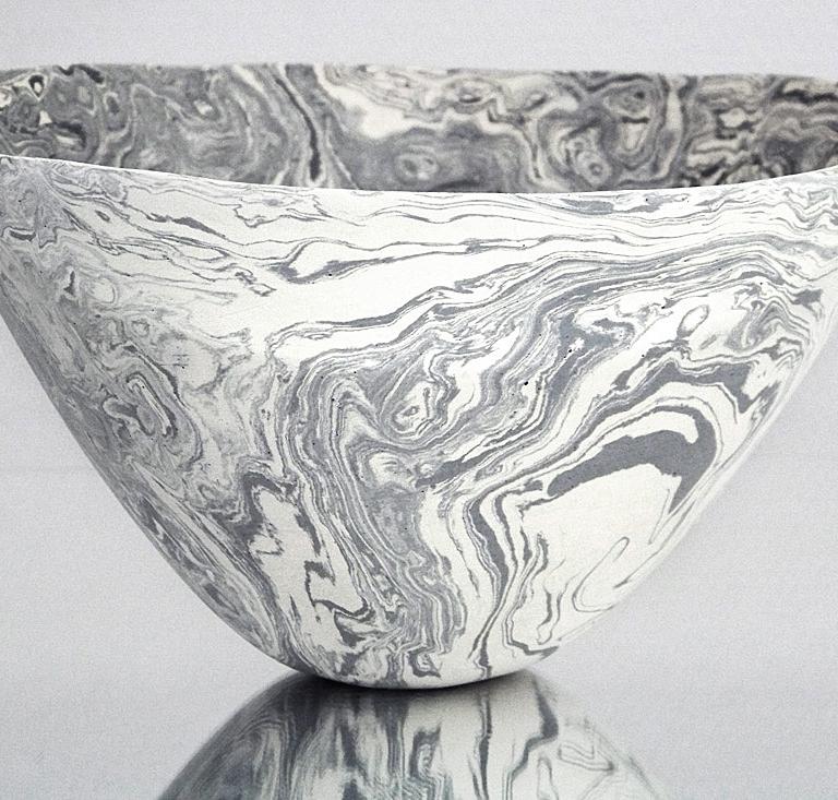 marmorierte Keramik